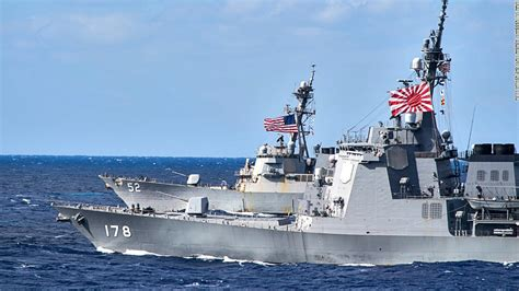 ship japan japan s largest warship to train with us navy cnnpolitics