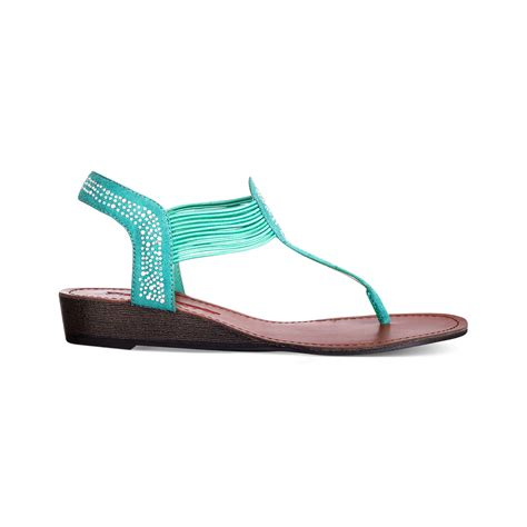 pink flat sandals pink and pepper memory flat sandals in green lyst