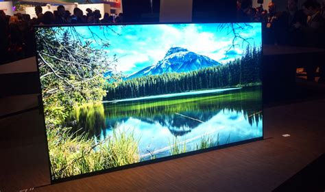 Colour Oled From Sony by Sony Xbr A1e Impressions Review Reviewed