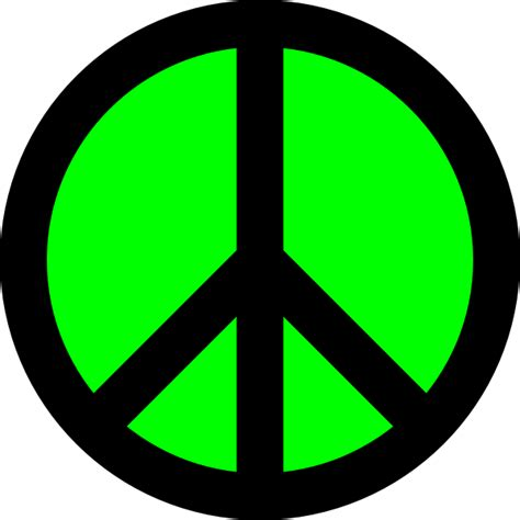 peace sign template peace sign template clipart best