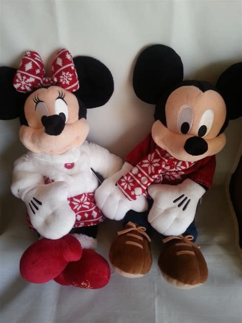Minnie Original From Disney Store Japan disney store plush doll 2015 mickey mouse minnie set japan limited ebay