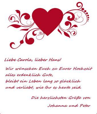 Hochzeitskarte Text by Gl 252 Ckw 252 Nsche Zur Hochzeit Hochzeitsgl 252 Ckw 252 Nsche