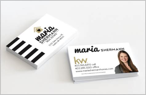 best business card for real estate agent best business cards