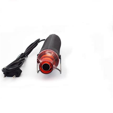 Hair Dryer Air Clay 1pc air gun black thermal shrinkage sheet rubber st