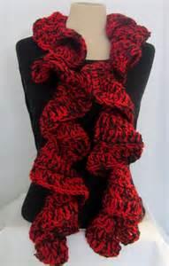 crochet scarf ruffle and black ruffle scarf crochet