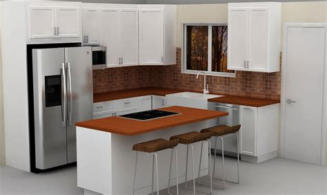 Side Kitchen by Modern Kitchen Cabinet Decor Ideas Features Microwave