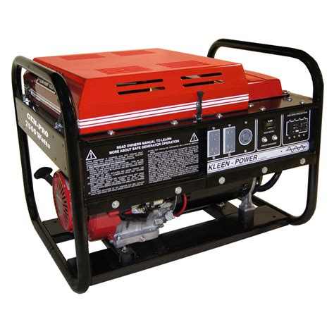 gas to electricity generator gillette generator gpe75h industrial portable generator 7500watts 120volts recoil start gpe 75h