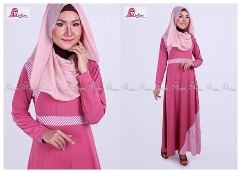 Tuspin Cantik Dan Murah Ribbon Warna Biru Muda jual busana muslim wanita baju muslim terbaru