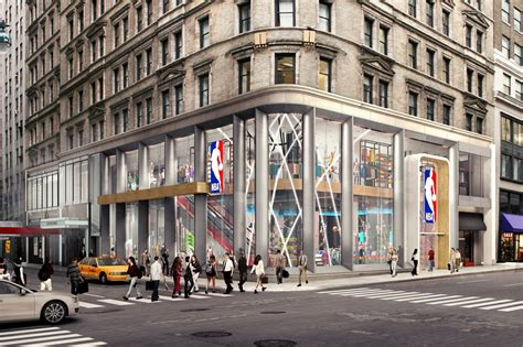 nyc store nba store bring an interactive experience to nyc