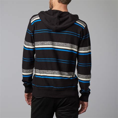 Hooded Drawstring Sweater hooded drawstring sweater black s member