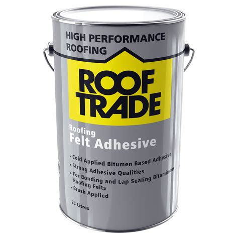 Rooftrade Black Roofing Felt Adhesive 25l Departments