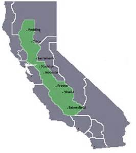 central valley california map sonoma fresno sacramento bakersfield elementary school