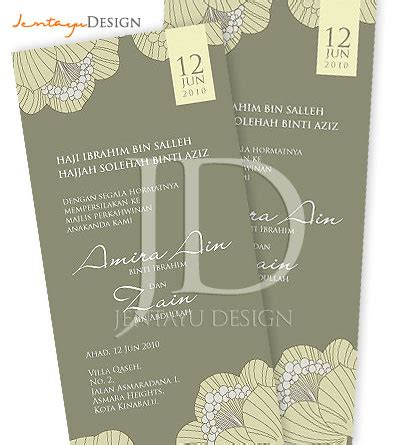 Wedges Fladeo Murah Dan Cantik 1 wedding diaries print kad kahwin cantik dan murah auto