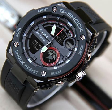 Jam G Shock Gwa1100 Orange Rubber jam tangan g shock gt 210d delta jam tangan