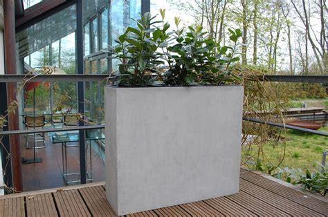pflanzk 252 bel raumteiler quot elemento quot aus fiberglas beton design