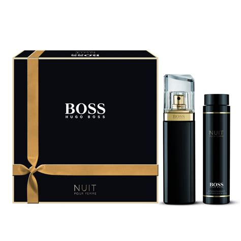 Parfum Hugo Nuit hugo nuit eau de parfum 50ml lotion 100ml gift set hugo from base uk