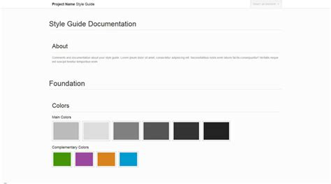 middleman pattern library front end style guides generators