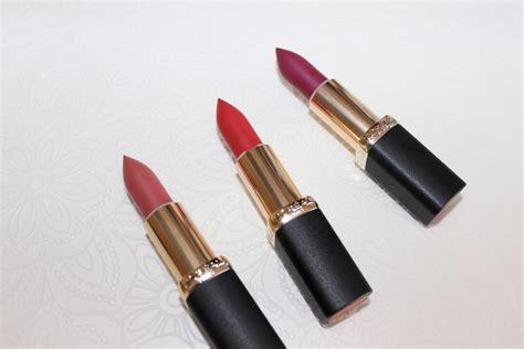 Lip Tint Loreal l or 233 al color riche matte addiction lipstick beautynook