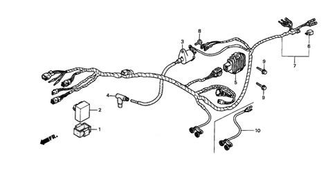 1997 honda recon 250 wiring wiring diagrams