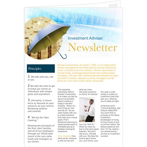 publisher templates for books newsletter templates sles newsletter publishing
