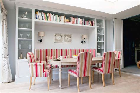 built in bench dining room refined simplicity 20 banquette ideas for your