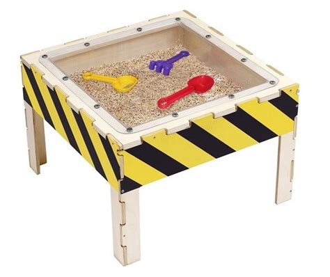 Sand Play Table by Anatex Swp7708 Sand Play Wooden Activity Table
