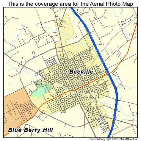 beeville texas map aerial photography map of beeville tx texas
