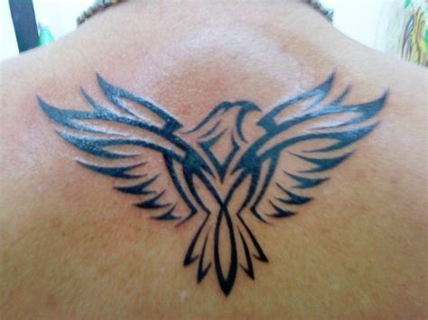 black eagle tatoo on the back ink d pinterest tatoo