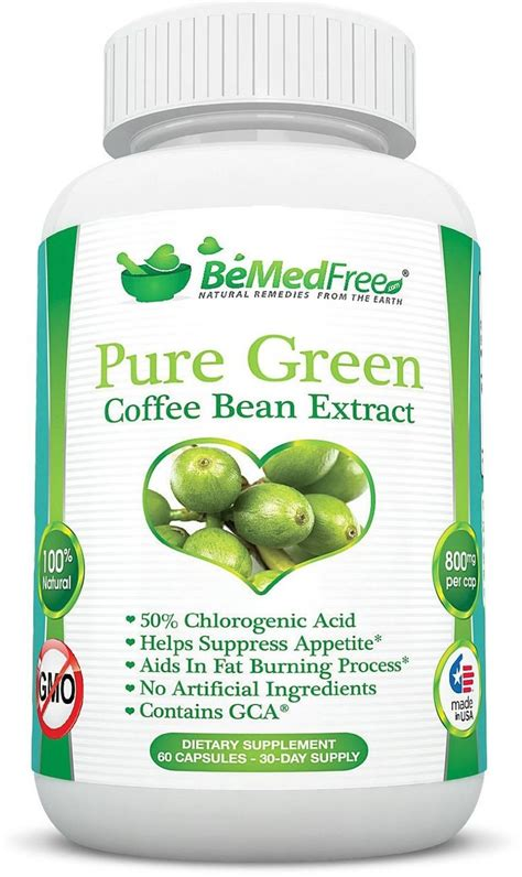 Green Coffee Bean Extract Burner green coffee bean extract 800mg gca 174 50 chlorogenic