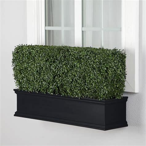outdoor window boxes black window box railing planters and plants hooks lattice
