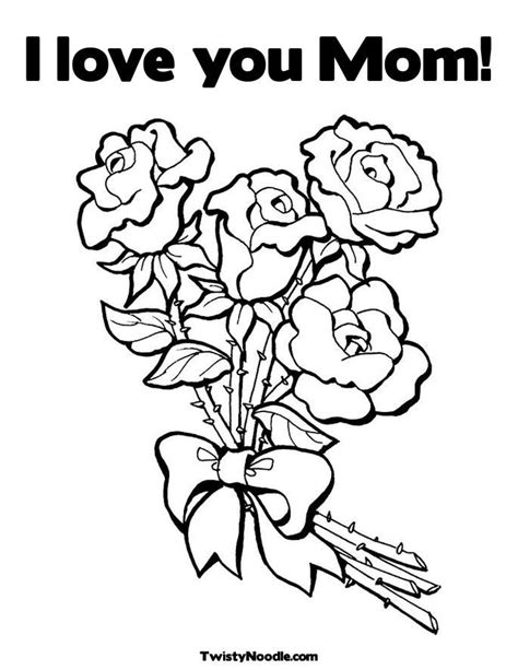 i love you mom coloring pages az coloring pages