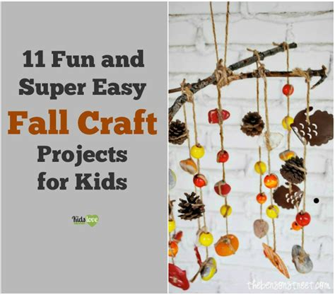 cool fall crafts for 11 and easy fall craft projects for