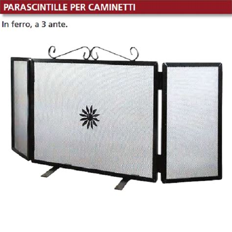 Camini Rettangolari by Parascintille Rettangolare Con Ali Cm 50 20 20 In Ferro A