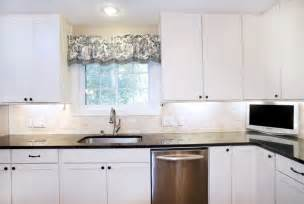 transitional white kitchen shaker style cabinets