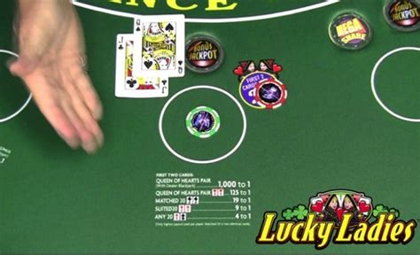 blackjack lucky ladies rules strategy  probabilities casinosavenue   casinos