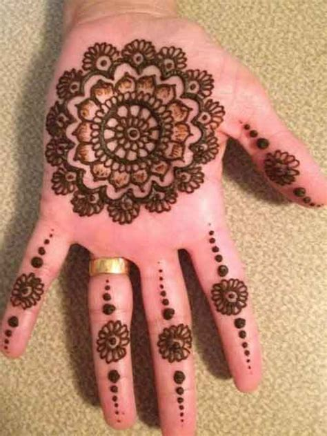 henna design round top 25 amazing simple circle mehndi designs simple and easy