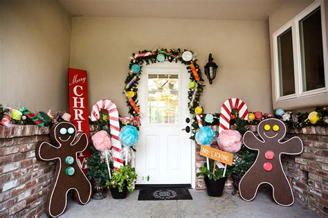 christmas on pinterest gingerbread houses garlands and gingerbread house decorations giant candy garland