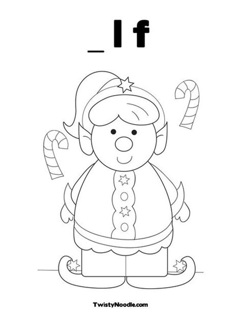 coloring page of a girl elf girl elf coloring page christmas pinterest