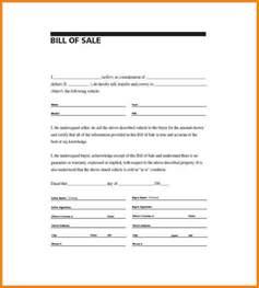6 simple bill of sale pdf simple bill