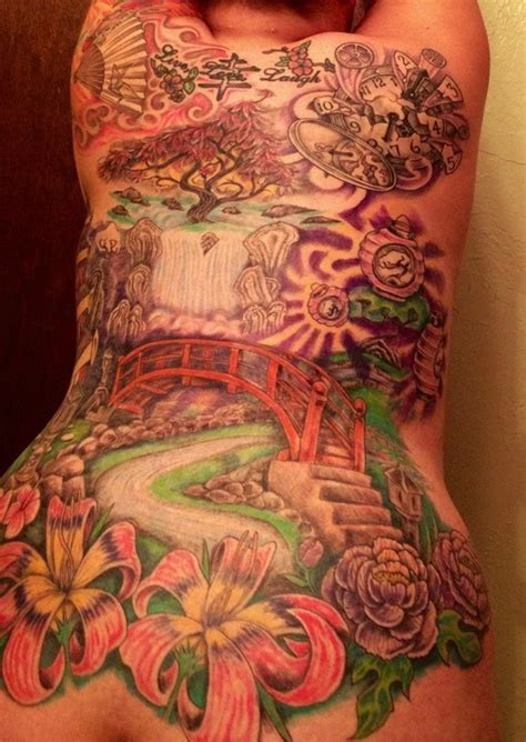 desi tattoo designs pin japanese landscape horimouja designs on