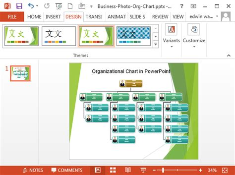 Organizational Chart In Powerpoint How To Make An Organizational Chart In Powerpoint 2010
