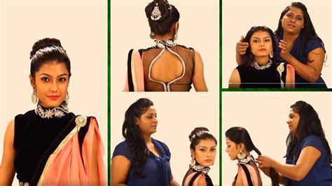 bollywood buns step by step indian bun hairstyles step by step simple hairstyles for