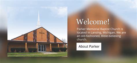 parker memorial baptist church lansing mi