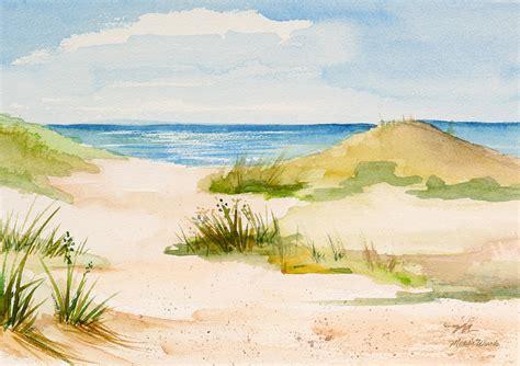 Seashore Home Decor summer on cape cod painting by michelle wiarda constantine