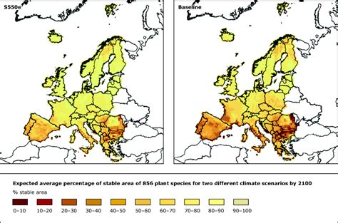 changes in cloud distribution explain some weather distribution of plant species european environment agency