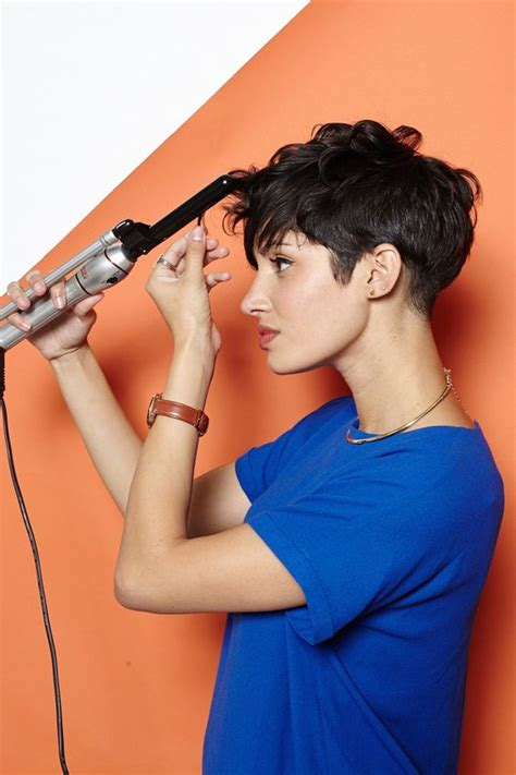 blow dry a pixie pixie hairstyles new styles for really short hair