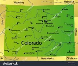 colorado state map usa colorado map 100 more photos