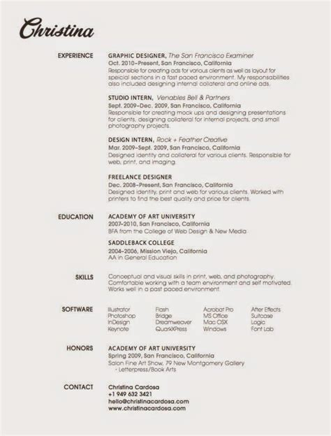 contoh resume terbaik 1000 images about resume on pinterest