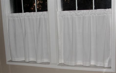 cafe curtains white white cotton cafe curtains home design ideas