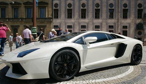 M Nchen Lamborghini by Lamborghini Aventador Redactionele Foto Afbeelding 20252821
